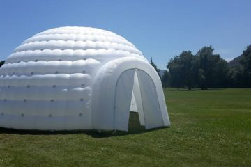 Igloo gonflable